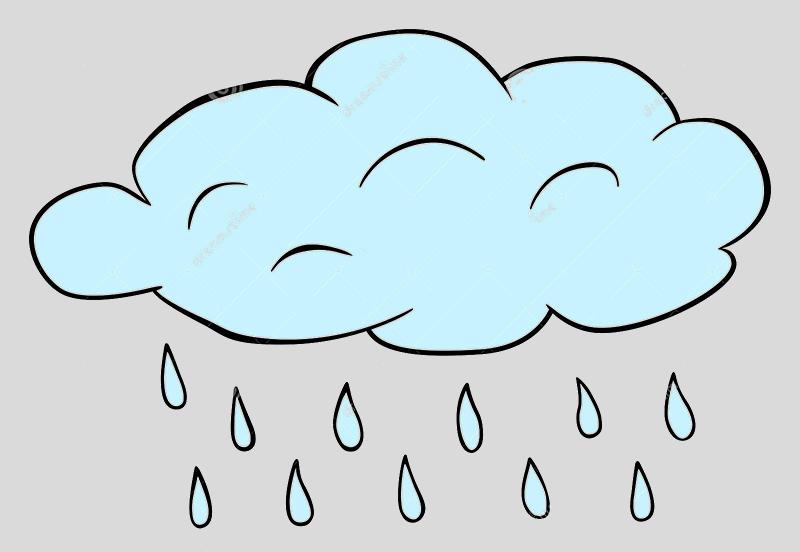 nuage pluie